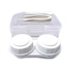Набор для контактных линз малый белый