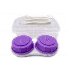 Набор для контактных линз малый фиолетовый