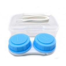 Набор для контактных линз малый голубой