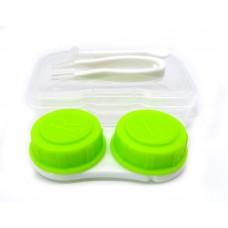 Набор для контактных линз малый зелёный