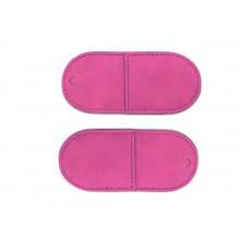 Окклюдер матерчатый розовый большой