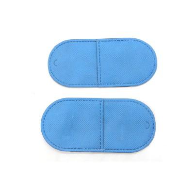 Окклюдер матерчатый синий большой