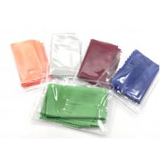 N2 салфетка однотонная  для очков в индивидуальной упаковке