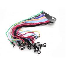 Шнурки для очков текстиль цветные