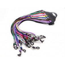 Шнурки для очков косичка цветные