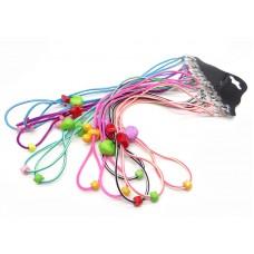 Шнурки для очков детские резиновые с фиксатором