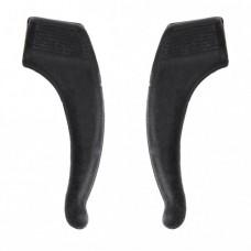 Стопперы силиконовые 1 пара большие чёрные
