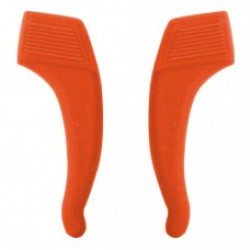 Стопперы силиконовые 1 пара большие оранжевые